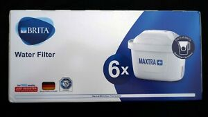 BRITA Maxtra+ Plus x 6 Water Filter Jug Replacement Cartridges Refills