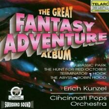 Great Fantasy Adventure Album - Cincinnati Pops Orch/Kunzel (NEW CD)