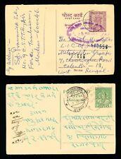 2 Indian Postcards - Asokan Capital (164)
