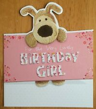 "'For The Very Lovely Birthday Girl' Boofle Birthday Card - 6.25"" x 5.25"""