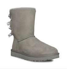 Ugg Australia Womens Bailey Bow II Diagonal Stripes Seal Boots
