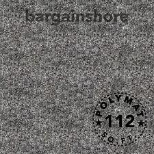 Patron 150/'L X 4/'W Dark Gray Car PA DJ Speaker Box Upholstery Liner Carpet