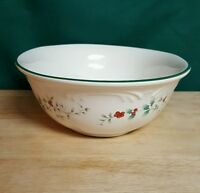 Pfaltzgraff Winterberry 1 1/2 Quart Oval Vegetable Serving Bowl
