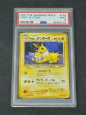 Pokemon Japanese Light Jolteon Neo 4 No. 135 PSA 9 MINT POP 3