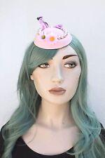 Pony Rosa Mini Sombrero Kawaii Indie razas pastel goth