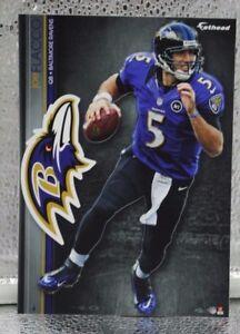 "Joe Flacco 5 Fathead Baltimore Ravens NFL 7"" Decal Tradables 🎁FREE SHIPPING🎁X"