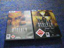 STALKER CLEAR SKY e SHADOW of Chernobyl in involucri DVD