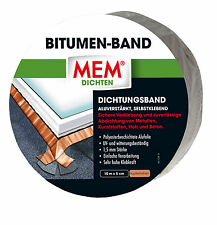 MEM Bitumen-Band Kupfer 7,5cm x 10 m Dichtungsband Dach-Abdichtung Dichtband