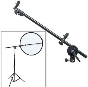 Selens Swivel Head Reflector Holder Bracket Arm Support with Telescopic Boom
