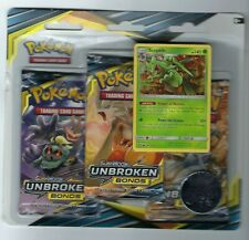 Pokemon Tcg Unbroken Bonds 3 Pack Blister Sealed Random Promo