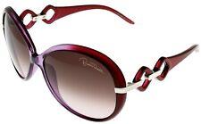 Roberto Cavalli Sunglasses Women Burgundy RC519 81Z Round Fashion