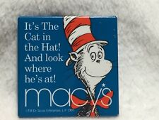 Vintage Macy's Dr Seuss Cat In The Hat Pin