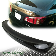 STOCK USA Carbon For Lexus IS250 IS350 4DR Sedan IS F Sport Trunk Spoiler 12
