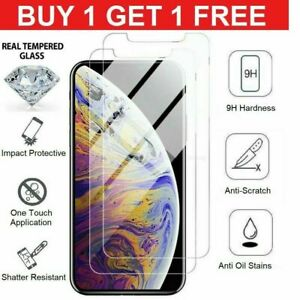 Tempered Glass Screen Protector For Apple iPhone 6,6S,7 7P,8,iphoneX,XR.X-MAX-uk