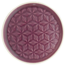 GreenGate Floral Side Plate in Kallia Plum