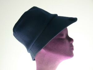 Vintage Hut im Stil der 20er Jahre blau Cloche La Parisienne Hat Film Requisit