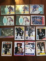 Wayne Gretzky 41 Hockey Card Lot Edmonton Oilers, Los Angeles Kings, NY Rangers