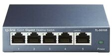 TP-Link 5 Port Gigabit Ethernet Network Switch | Plug & Play (free shipping)