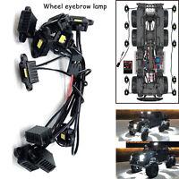 Für TRAXXAS Benz TRX6 G63 AMG 6x6 RC Car Wheel Eyebrow Lamp Arch Lamp LED Light