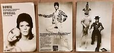 DAVID BOWIE - SET OF 3 PROMOTIONAL POSTCARDS FROM THE RCA YEARS