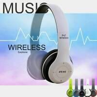 Bluetooth5.0 Wireless Kopfhörer Headset Stereo Noise Cancelling Over Ear Faltbar