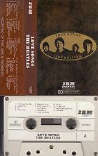 THE BEATLES - Love Songs > MC Musikkassette -Made in Japan