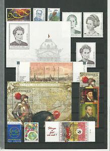 Belgien Jahrgang 2000 komplett postfrisch