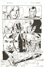 Fear Itself: The Fearless #1 p.16 - Valkyrie & War Machine - 2011 by Mark Bagley