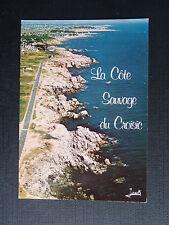 CPSM La côte sauvage du Croisic