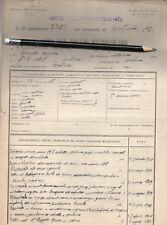 PFR FOGLIO MATRICOLARE DISERTORE MODENA REPUBBLICA SOCIALE 1944 doc3