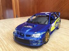 Subaru Impreza WRC 2007 1:36 scale KiNSMART toy model cast metal car