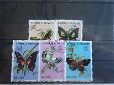 - SAO TOME E PRINCIPE - FAUNE - Papillons- 1996 -2