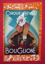 Programme de cirque de Bouglione au Cirque d'Hiver, saison 1957-58