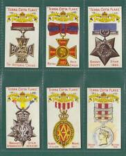 NOSTALGIA CLASSICS - SET OF 6 - ROBINSON  ' MEDALS  &  DECORATIONS ' CARDS