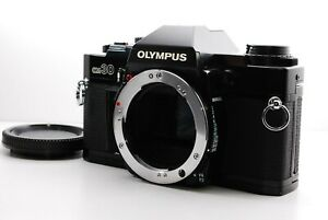 [Exc+++] OLympus OM30 Black Body 35mm SLR Film Camera From Japan