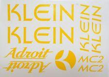 Klein Adroit Paint Mask Vinyl ~ Klein Frame, Fork, MC2, Head Tube Vinyl
