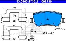 ATE Juego de pastillas freno Trasero para BMW Serie 3 FORD S-MAX 13.0460-2736.2
