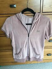 Michael Kors Hooded Top with Short Sleeves, Size M