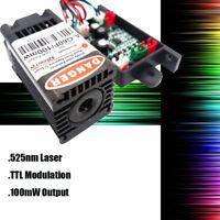 525nm 100mW Green Laser Module/TTL Green Laser Module