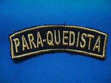 PORTUGAL PORTUGUESE MILITARY PARACHUTE PARATROOPS SHOULDER PATCH 95mm