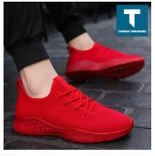 Troy Men's Fashion Sneakers Shoes 988 (RED) - SIZE 39