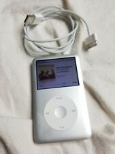 160GB Apple iPod Classic Silver 7th Generation Model A1238 Pre-owned