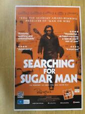 RODRIGUEZ SIGNED COA SEARCHING FOR SUGAR MAN POSTER AUTOGRAPH