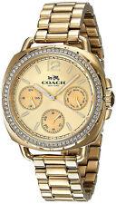 Coach 14502570 Татум золотой циферблат золотой тон из нержавеющей стали хронограф женские часы