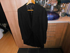 "1930s  Austin Reed Black Morning  Dress Tailcoat size 40"""