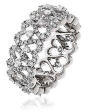 Diamond Full Eternity Wedding Ring 1.35ct Brilliant Cut F VS in 18ct White Gold