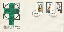 1974 Niue FDC cover Christmas