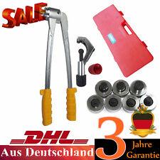 7 cabeza Expansor Alicates de tubo de Swage Kit Tools expanderzange 16mm-28mm
