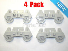 303991 (4 PACK ) DISHWASHER LOWER RACK ROLLERS FOR WHIRLPOOL KENMORE ROPER