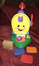 Fisher Price Laugh And Learn Mailbox Complete 3 Letters & Package - Sounds Work